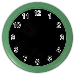 Space Colors Color Wall Clocks