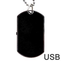Space Colors Dog Tag Usb Flash (one Side)