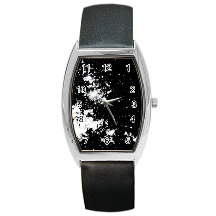 Space colors Barrel Style Metal Watch