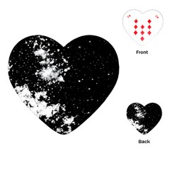 Space Colors Playing Cards (heart)