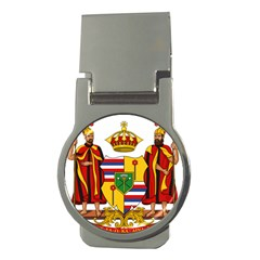 Kingdom Of Hawaii Coat Of Arms, 1795 1850 Money Clips (round)