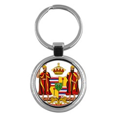 Kingdom Of Hawaii Coat Of Arms, 1795 1850 Key Chains (round)