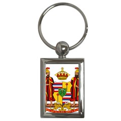 Kingdom Of Hawaii Coat Of Arms, 1795 1850 Key Chains (rectangle)