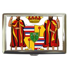 Kingdom Of Hawaii Coat Of Arms, 1795 1850 Cigarette Money Cases