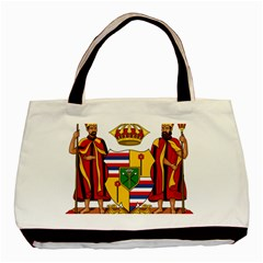 Kingdom Of Hawaii Coat Of Arms, 1795 1850 Basic Tote Bag