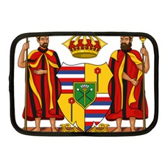 Kingdom Of Hawaii Coat Of Arms, 1795 1850 Netbook Case (medium)