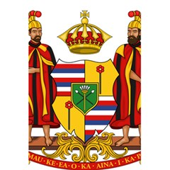 Kingdom Of Hawaii Coat Of Arms, 1795 1850 5 5  X 8 5  Notebooks