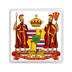 Kingdom Of Hawaii Coat Of Arms, 1795 1850 Memory Card Reader (square)