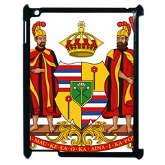 Kingdom Of Hawaii Coat Of Arms, 1795 1850 Apple Ipad 2 Case (black)