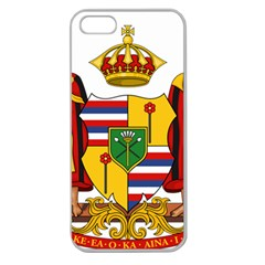 Kingdom Of Hawaii Coat Of Arms, 1795 1850 Apple Seamless Iphone 5 Case (clear)