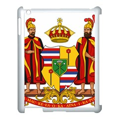 Kingdom Of Hawaii Coat Of Arms, 1795 1850 Apple Ipad 3/4 Case (white)