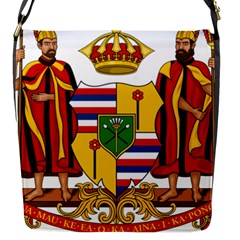 Kingdom Of Hawaii Coat Of Arms, 1795 1850 Flap Messenger Bag (s)