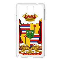 Kingdom Of Hawaii Coat Of Arms, 1795 1850 Samsung Galaxy Note 3 N9005 Case (white)