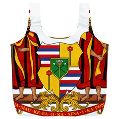 Kingdom Of Hawaii Coat Of Arms, 1795 1850 Full Print Recycle Bags (l)
