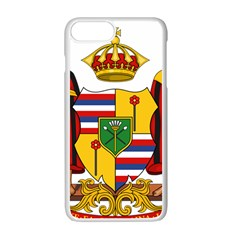 Kingdom Of Hawaii Coat Of Arms, 1795 1850 Apple Iphone 7 Plus White Seamless Case