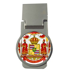 Kingdom Of Hawaii Coat Of Arms, 1850 1893 Money Clips (round)