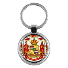Kingdom Of Hawaii Coat Of Arms, 1850 1893 Key Chains (round)