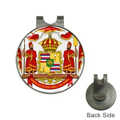 Kingdom Of Hawaii Coat Of Arms, 1850 1893 Hat Clips With Golf Markers