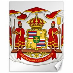 Kingdom Of Hawaii Coat Of Arms, 1850 1893 Canvas 18  X 24