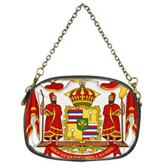 Kingdom Of Hawaii Coat Of Arms, 1850 1893 Chain Purses (two Sides)