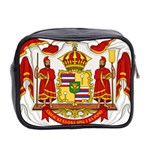 Kingdom of Hawaii Coat of Arms, 1850-1893 Mini Toiletries Bag 2-Side Back