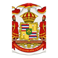 Kingdom Of Hawaii Coat Of Arms, 1850 1893 Shower Curtain 48  X 72  (small)