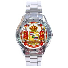 Kingdom Of Hawaii Coat Of Arms, 1850 1893 Stainless Steel Analogue Watch