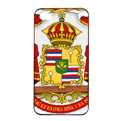 Kingdom Of Hawaii Coat Of Arms, 1850 1893 Apple Iphone 4/4s Seamless Case (black)
