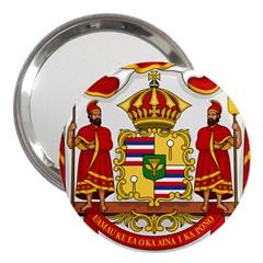 Kingdom Of Hawaii Coat Of Arms, 1850 1893 3  Handbag Mirrors