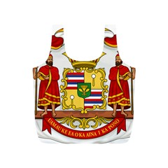 Kingdom Of Hawaii Coat Of Arms, 1850 1893 Full Print Recycle Bags (s)