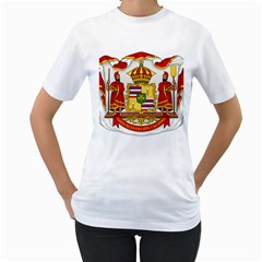 Kingdom Of Hawaii Coat Of Arms, 1850 1893 Women s T Shirt (white)