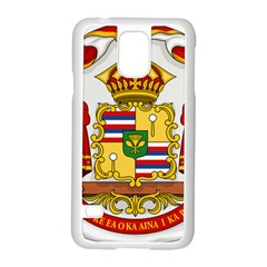 Kingdom Of Hawaii Coat Of Arms, 1850 1893 Samsung Galaxy S5 Case (white)