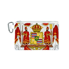 Kingdom Of Hawaii Coat Of Arms, 1850 1893 Canvas Cosmetic Bag (s)