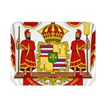 Kingdom of Hawaii Coat of Arms, 1850-1893 Double Sided Flano Blanket (Mini)  35 x27 Blanket Back