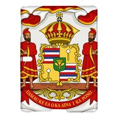Kingdom Of Hawaii Coat Of Arms, 1850 1893 Samsung Galaxy Tab S (10 5 ) Hardshell Case