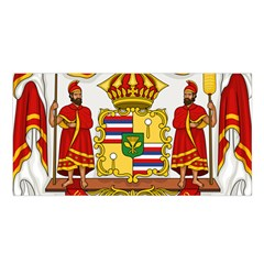 Kingdom Of Hawaii Coat Of Arms, 1850 1893 Satin Shawl