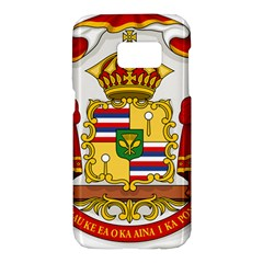 Kingdom Of Hawaii Coat Of Arms, 1850 1893 Samsung Galaxy S7 Hardshell Case