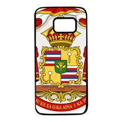 Kingdom Of Hawaii Coat Of Arms, 1850 1893 Samsung Galaxy S7 Black Seamless Case