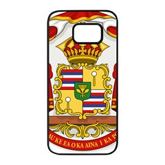 Kingdom Of Hawaii Coat Of Arms, 1850 1893 Samsung Galaxy S7 Edge Black Seamless Case