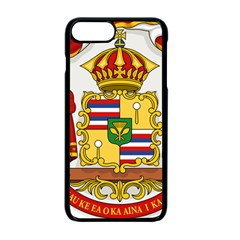 Kingdom Of Hawaii Coat Of Arms, 1850 1893 Apple Iphone 7 Plus Seamless Case (black)