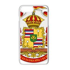 Kingdom Of Hawaii Coat Of Arms, 1850 1893 Apple Iphone 7 Plus White Seamless Case