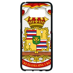 Kingdom Of Hawaii Coat Of Arms, 1850 1893 Samsung Galaxy S8 Black Seamless Case