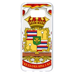 Kingdom Of Hawaii Coat Of Arms, 1850 1893 Samsung Galaxy S8 Plus White Seamless Case