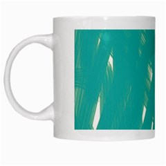 Background Green Abstract White Mugs