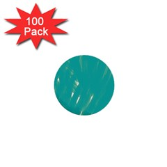Background Green Abstract 1  Mini Buttons (100 Pack)