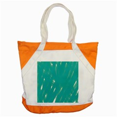 Background Green Abstract Accent Tote Bag
