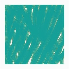 Background Green Abstract Medium Glasses Cloth (2 Side)