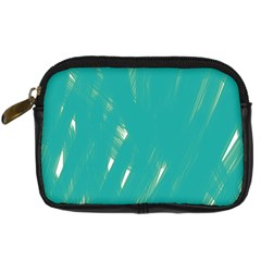 Background Green Abstract Digital Camera Cases