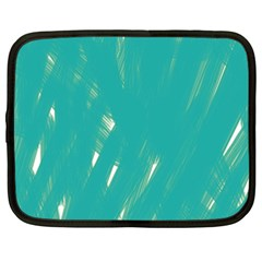 Background Green Abstract Netbook Case (xxl)