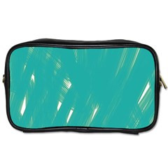 Background Green Abstract Toiletries Bags 2 Side